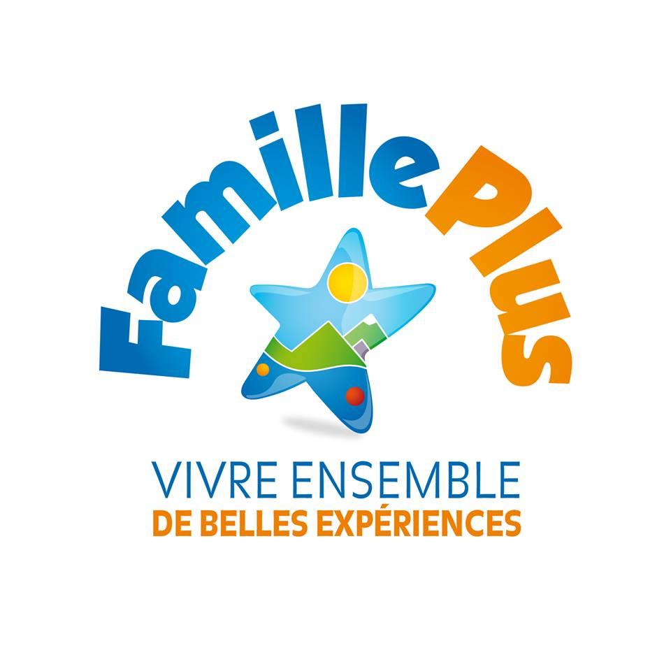 Logo Famille Plus Orcieres Merlette 1850 Champsaur Hautes Alpes Alpi Traineau Chiens de traineaux