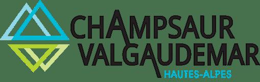 Logo Champsaur Valgaudemar Orcieres Merlette 1850 Champsaur Hautes Alpes Alpi Traineau Chiens de traineaux